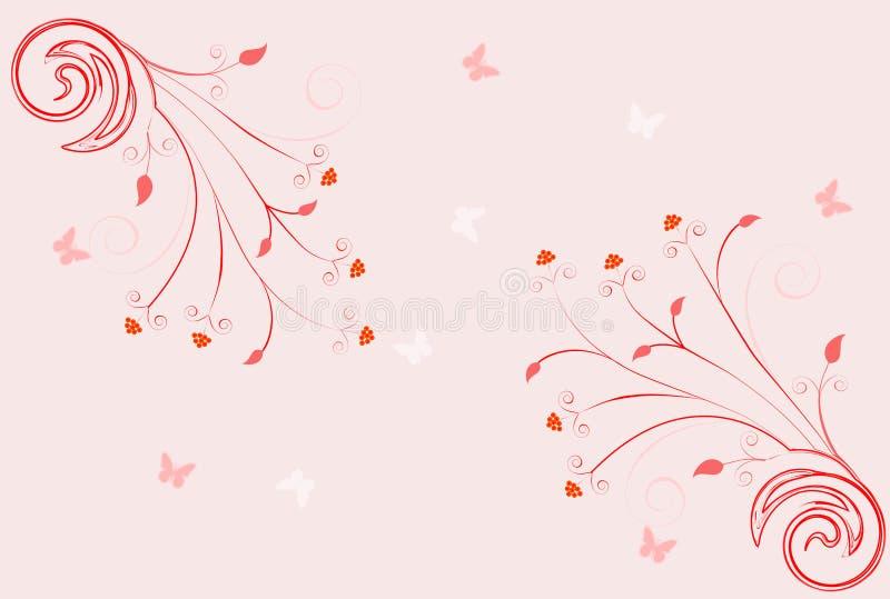 kwiecista ślimacznica royalty ilustracja
