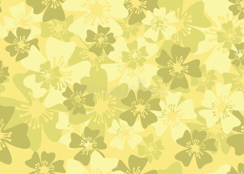 kwiecista tło wiosna ilustracji
