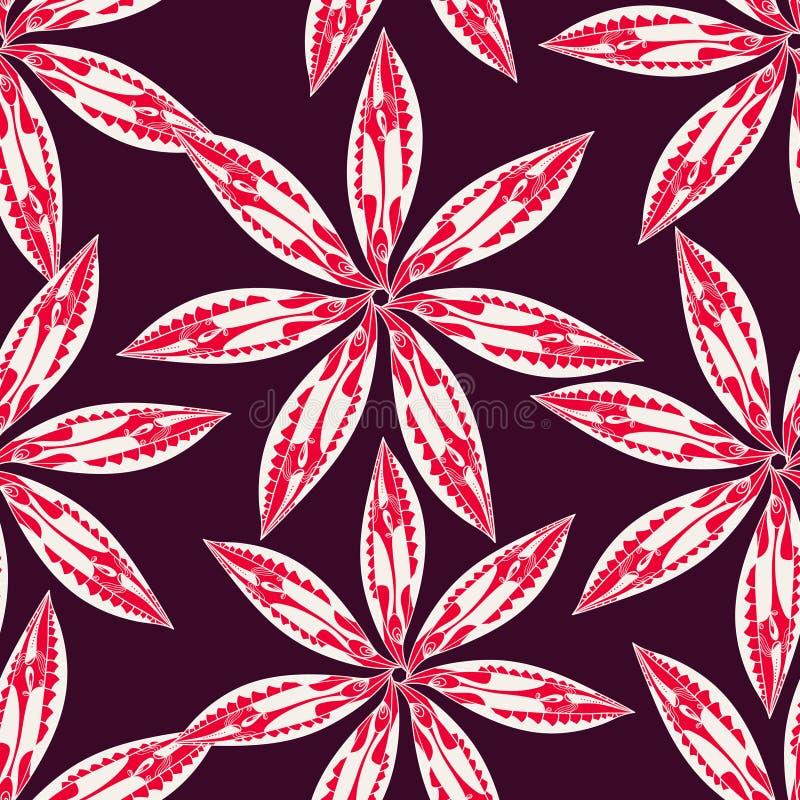 Kwiecista tekstura royalty ilustracja