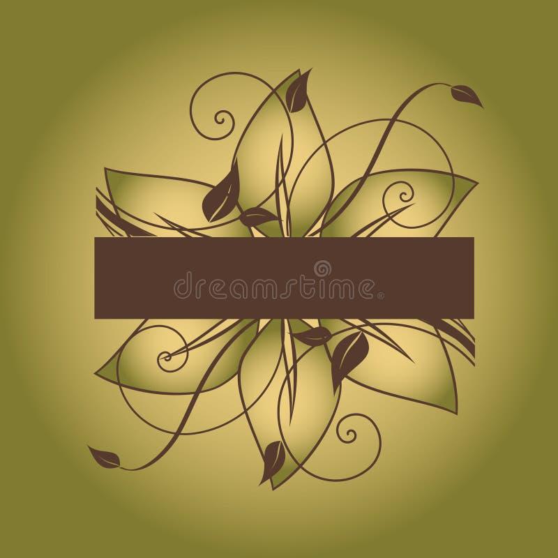 Download Kwiecisty Abstrakcjonistyczny Tło Ilustracja Wektor - Ilustracja złożonej z piękno, kwiat: 13332371