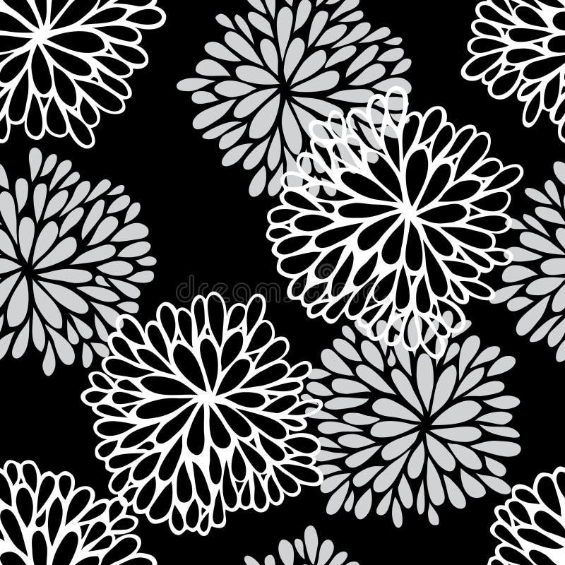 Kwiecisty bezszwowy wzór ilustracji