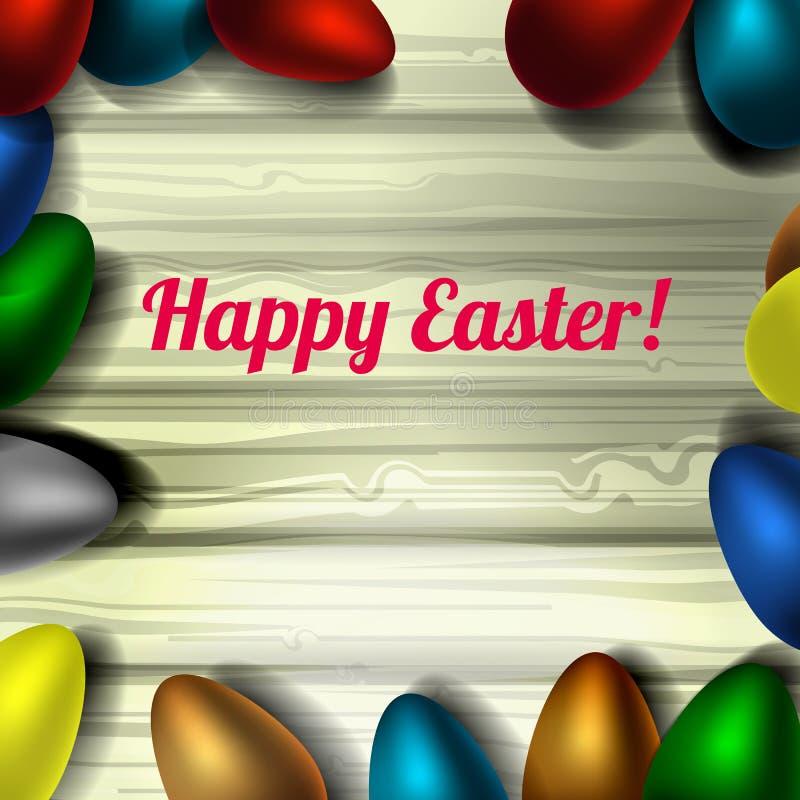 Kwiecisty Easter jajko wektor obrazy stock