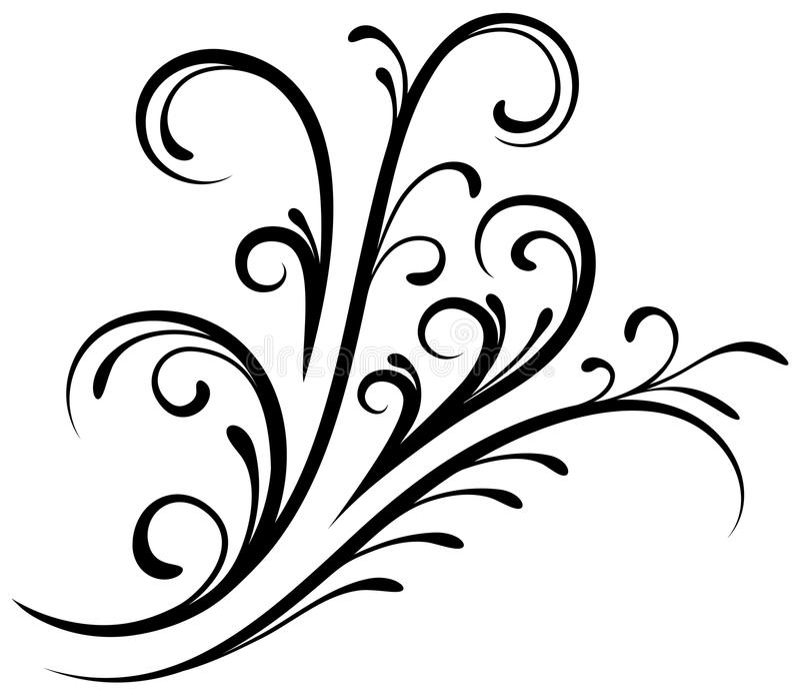 Kwiecisty element 7 ilustracji