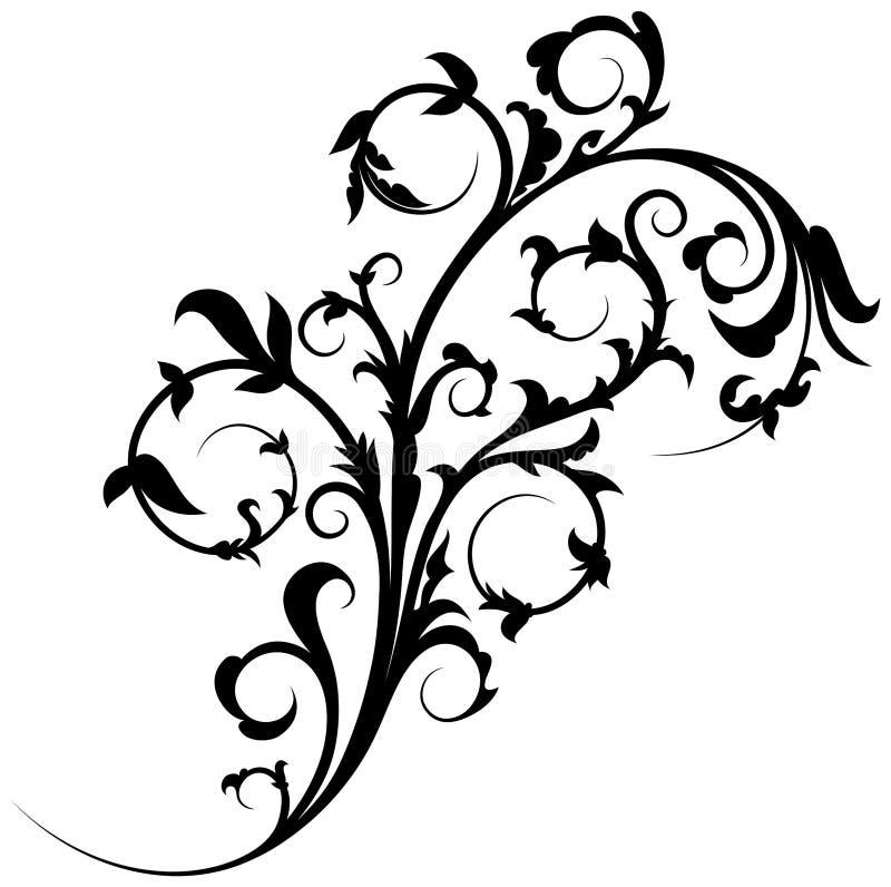 Kwiecisty element 14 ilustracji