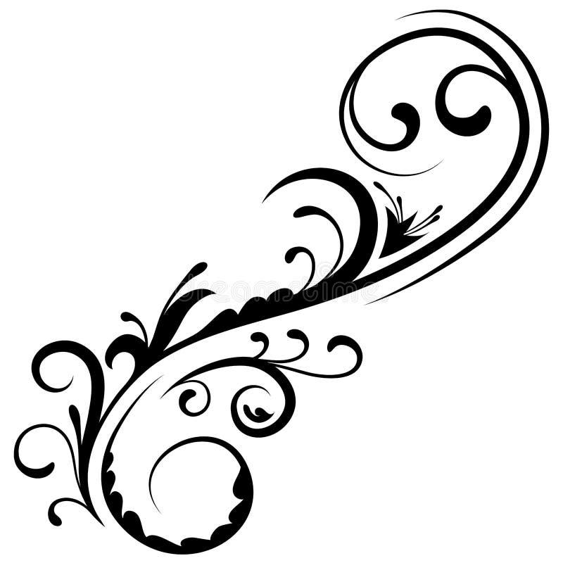 Kwiecisty element 17 ilustracji
