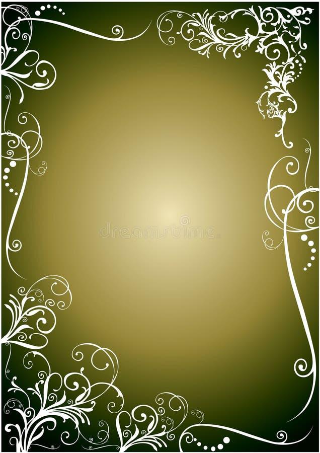 kwiecisty graniczny royalty ilustracja