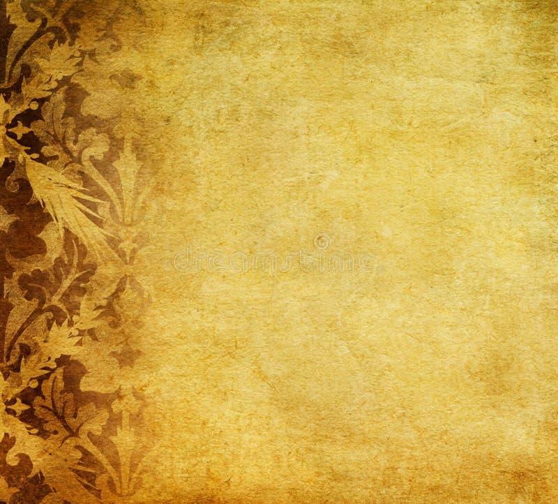 Kwiecisty Grunge tło ilustracja wektor