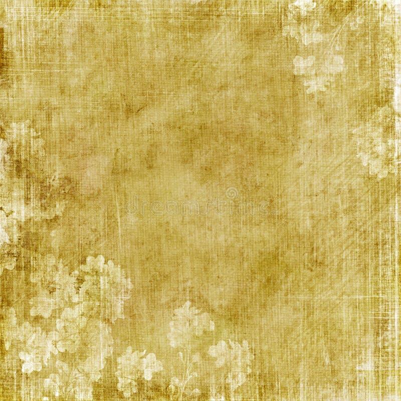 kwiecisty grungy tła ilustracja wektor