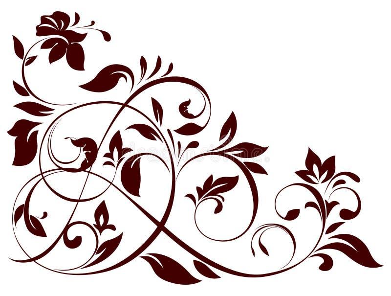 kwiecisty ornament ilustracji