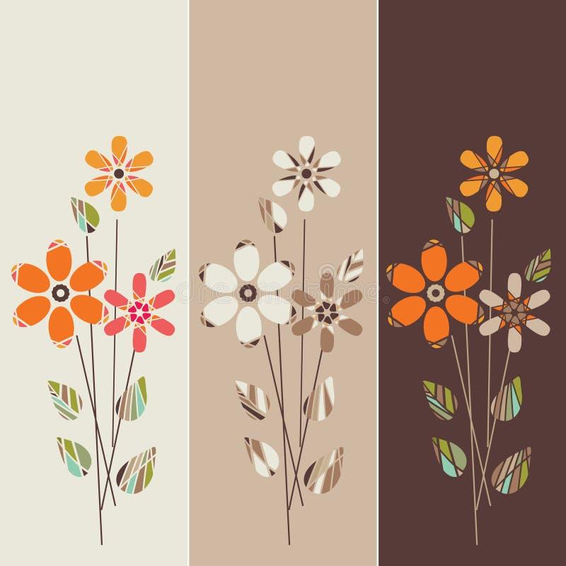 Kwiecisty tło ilustracja wektor