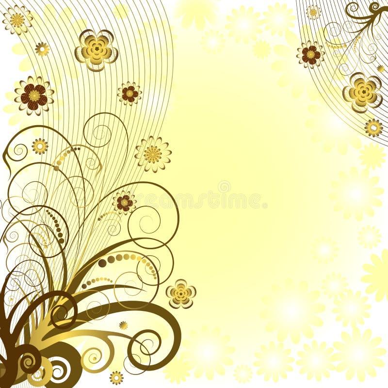 kwiecisty tło wektor ilustracji