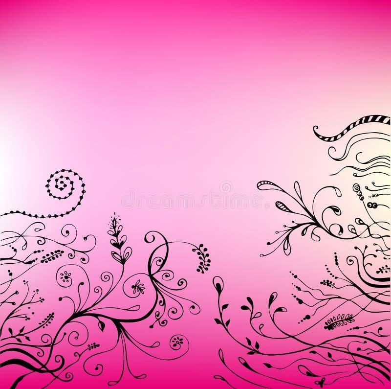 kwiecisty tło wektor royalty ilustracja