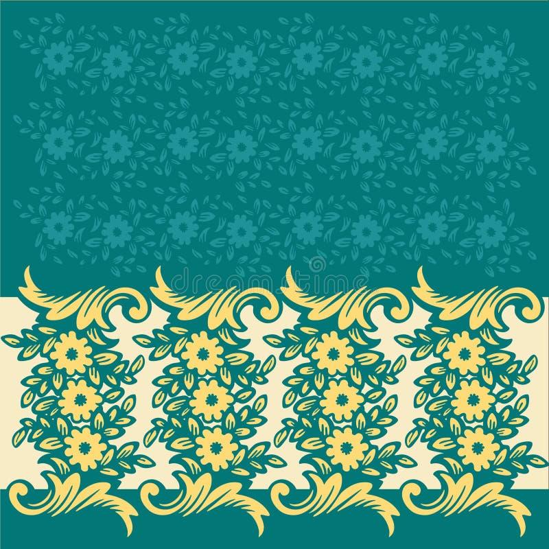 kwiecisty wzór royalty ilustracja