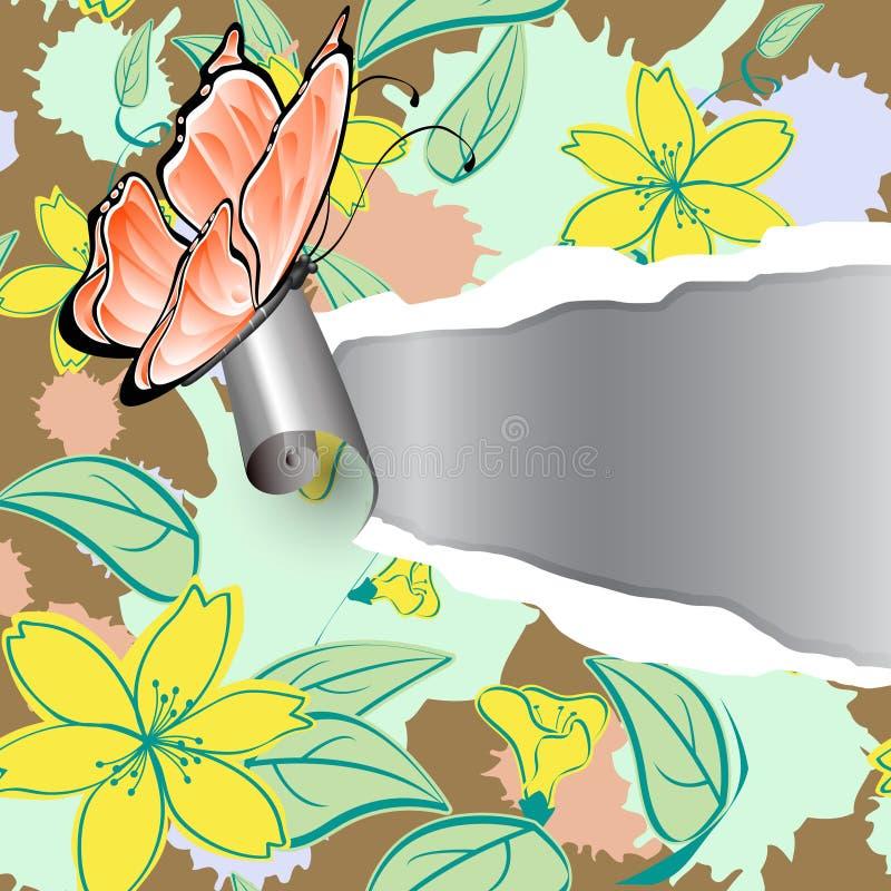 kwiecisty wzór ilustracja wektor