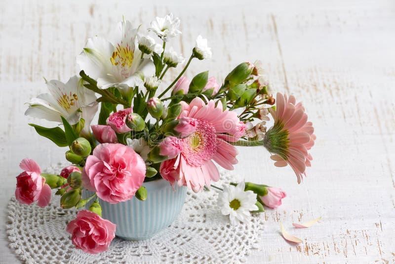 Kwitnie bukiet fotografia stock