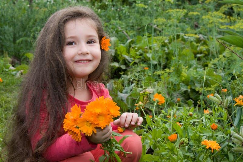 kwitnie dziewczyny fotografia royalty free