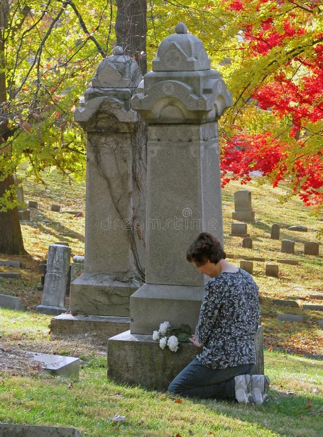 kwitnie grób zdjęcie royalty free