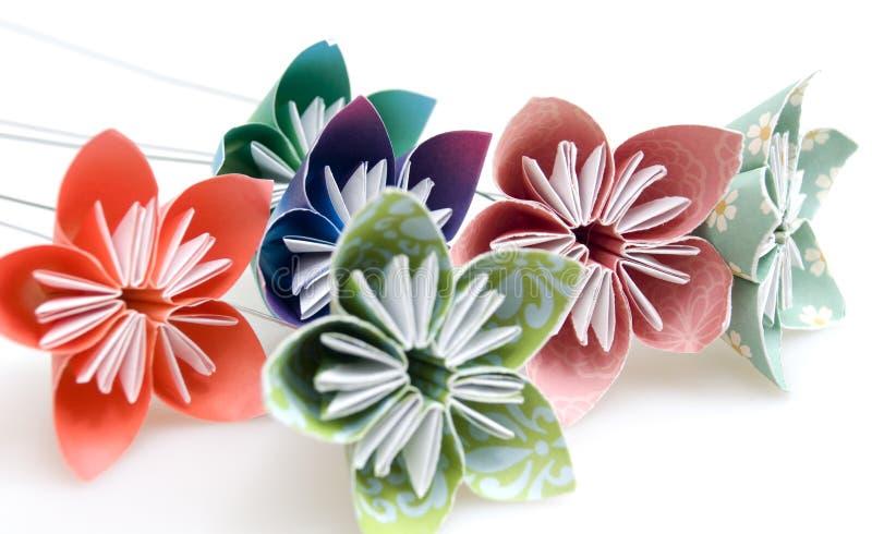 kwitnie origami zdjęcia stock
