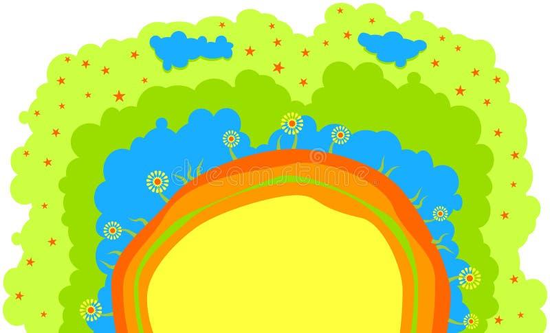 kwitnie przyrodniego świat ilustracji