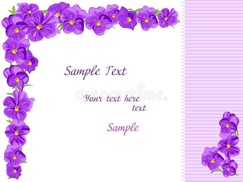 kwitnie purpury ilustracji