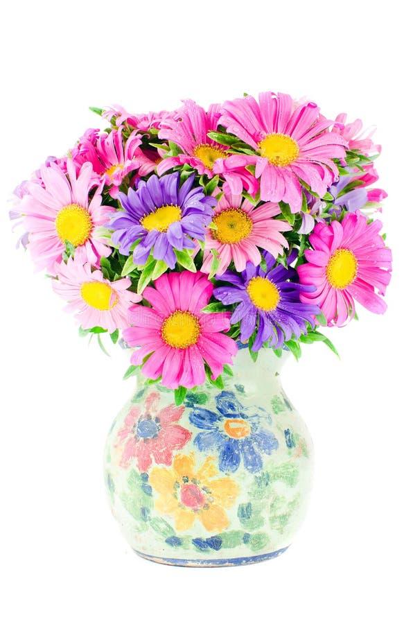 kwitnie wazę zdjęcia stock
