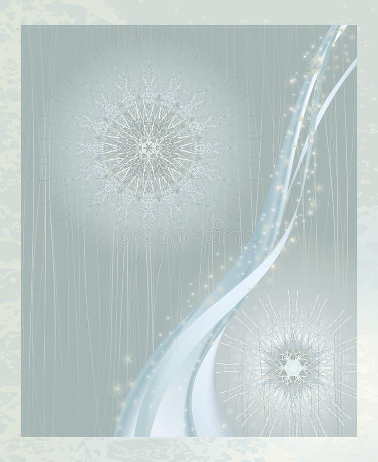 kwitnie zima ilustracji