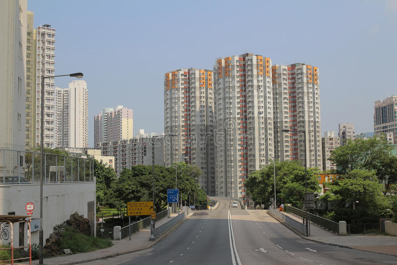 Kwong St Flyover gordo imagen de archivo