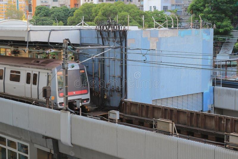 kwun tong estação 22 de agosto de 2017 HK foto de stock