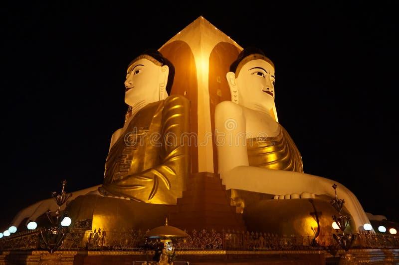 Kyaikpun pagod royaltyfri foto