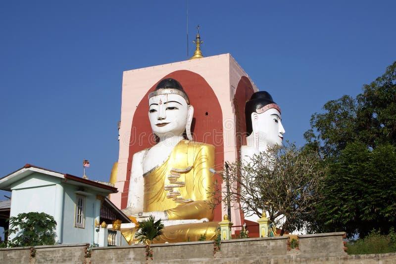Kyaikpun pagod, Bago, Myanmar fotografering för bildbyråer