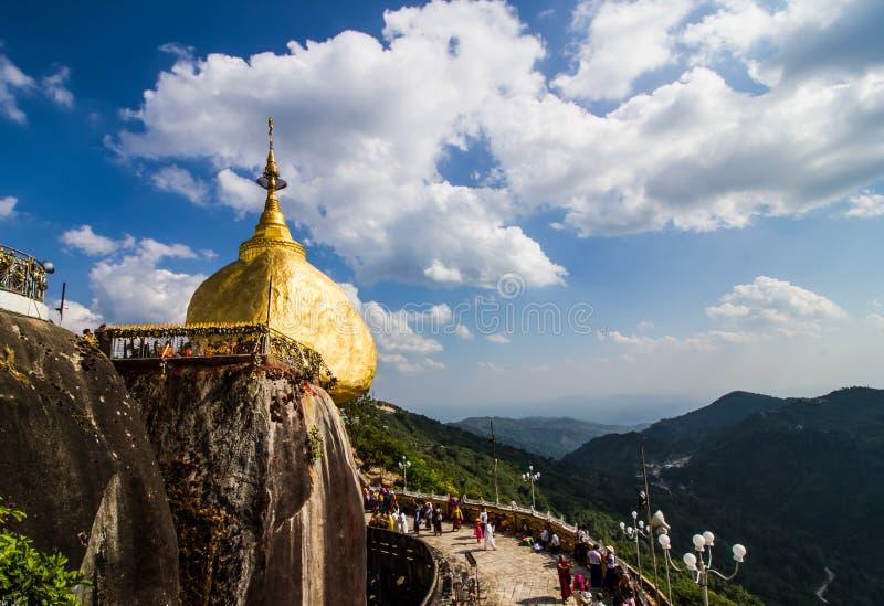Kyaiktiyo pagoda royalty free stock photography