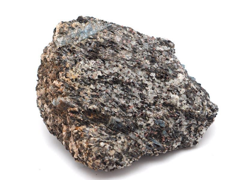 Kyanite em um branco fotos de stock