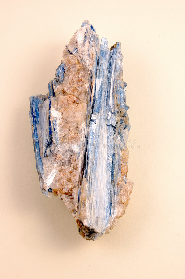 Free Kyanite-raw On A Pink Background Royalty Free Stock Image - 3864466