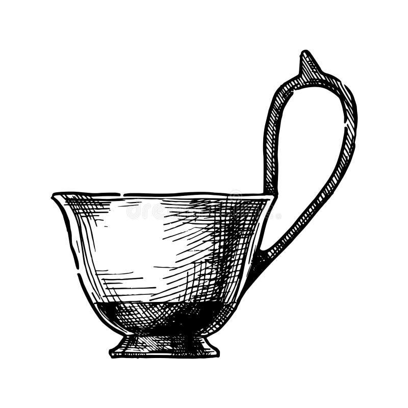 Kyathos 希腊花瓶 皇族释放例证