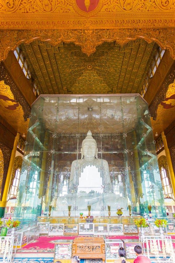 Kyauktawgyi buddha pagoda stock photo