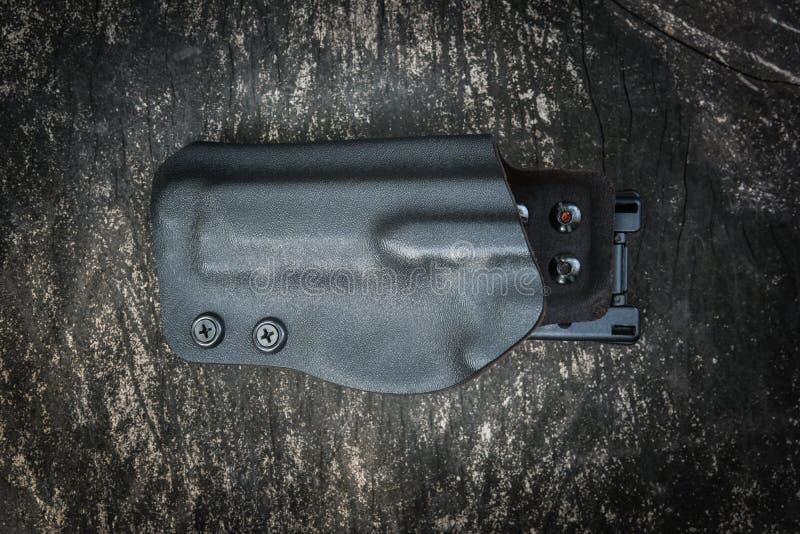 Kydex pistolhölster för pistol royaltyfri foto