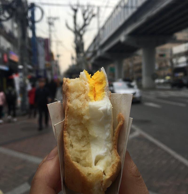 kyeranpan булочка eeg стоковое изображение