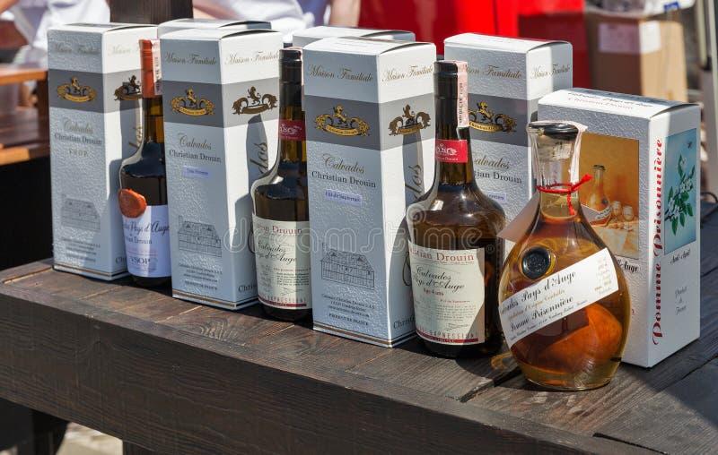 Kyiv由好酒的酒节在乌克兰 免版税库存照片