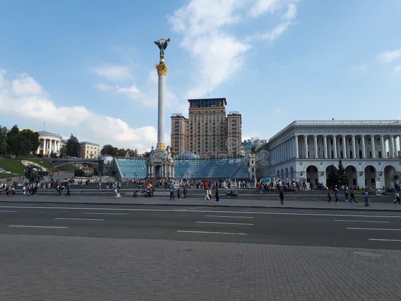 Kyiv 独立马坦公园 库存图片