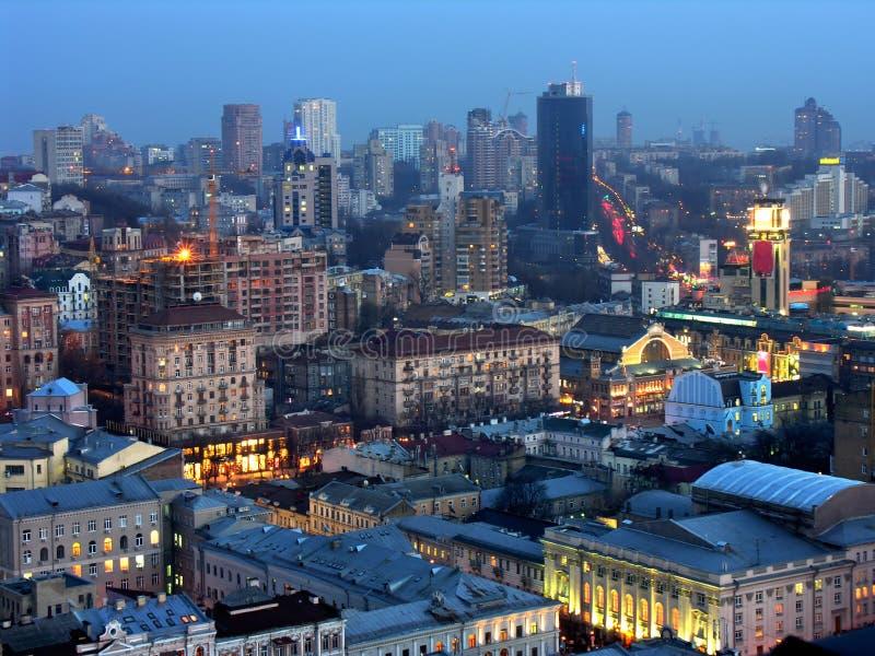Kyiv, il capitale dell'Ucraina immagine stock libera da diritti