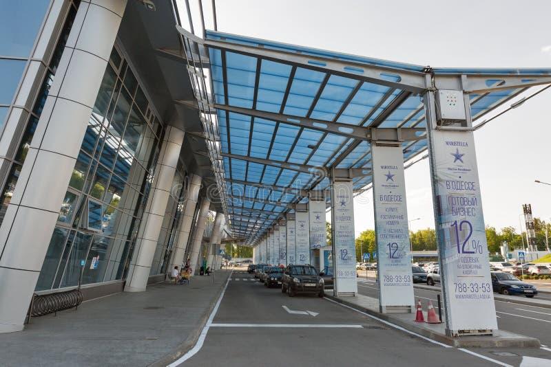 Kyiv lotnisko międzynarodowe Zhuliany, Ukraina fotografia stock