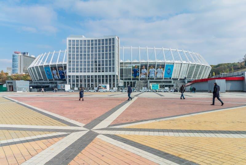 kyiv nsc olimpiysky ολυμπιακό στάδιο Ουκρανία στοκ εικόνες