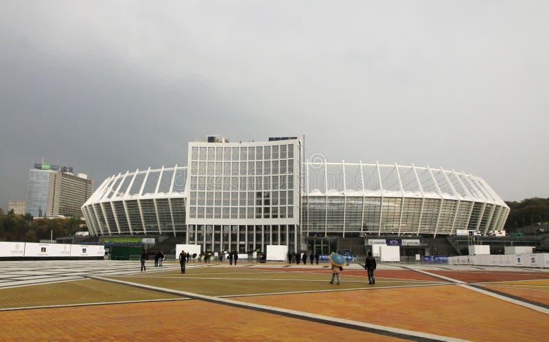 kyiv nsc olimpiysky olimpijski stadium Ukraine obrazy stock