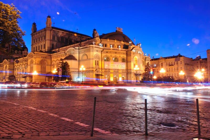 Kyiv-Opernhaus lizenzfreie stockfotos