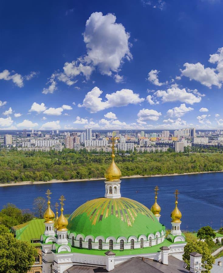 Download Kyiv-Pechersk Lavra fotografia stock. Immagine di antico - 55365120