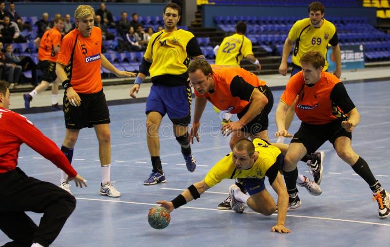 Download Handball Game Ukraine Vs Netherlands Editorial Stock Photo - Image: 30254458