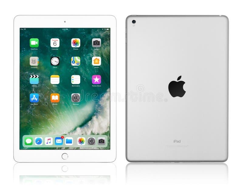 Apple iPad Pro Silver royalty free stock photography