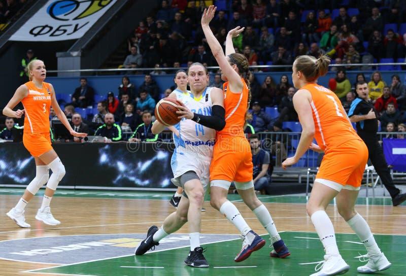 FIBA Womens EuroBasket 2019: Ukraine V Netherlands ...