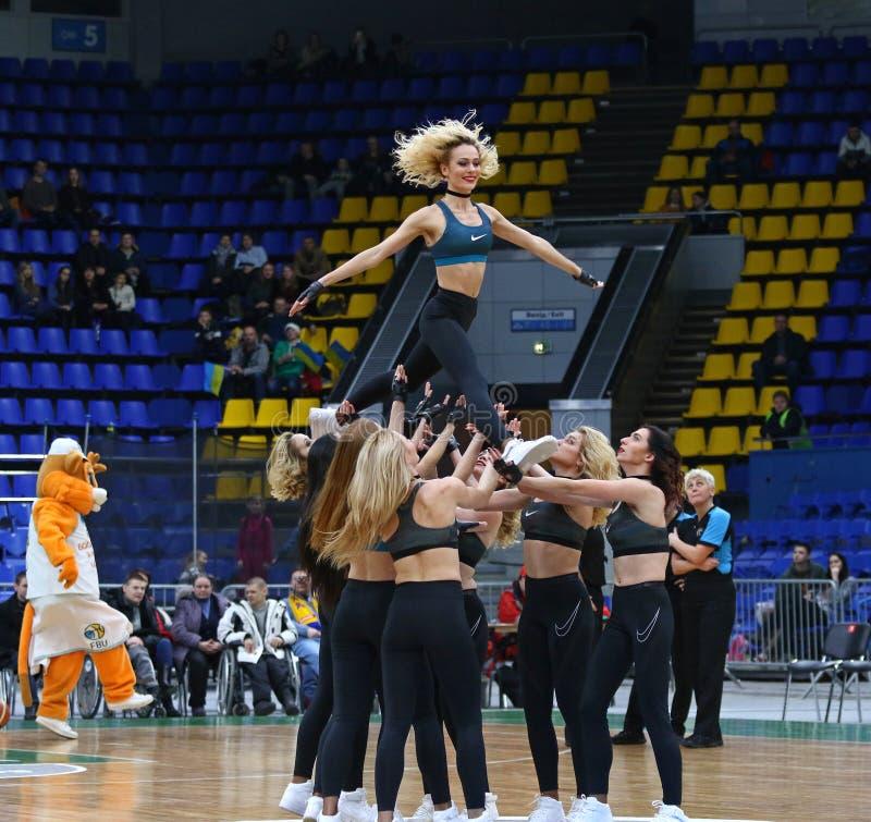 FIBA Womens EuroBasket 2019: Ukraine v Netherlands stock photo