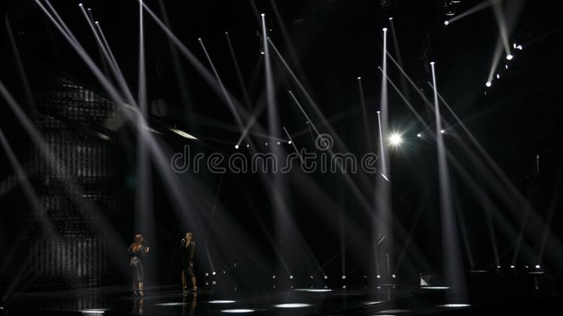 Second semifinal of Ukraine`s selection for Eurovision 2019 royalty free stock image
